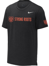 Strong Roots Men's Short Sleeve Tee - Black