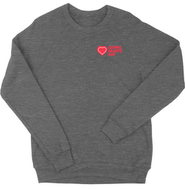 GHD Triblend Crewneck | Giving Hearts Day