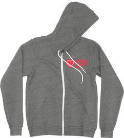 GHD Unisex Soft Zip Hoodie| Giving Hearts Day