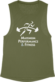 Maximum Performance and Fitness Ladies Flowy Tank
