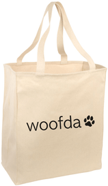 Downtown Dogs Tote Bag