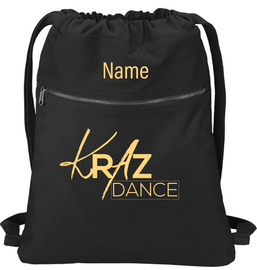 Kraz Dance Personalized Drawstring Bag