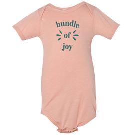 Hope Blooms | Peach Bundle of Joy Onesie