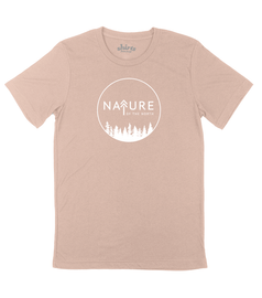 Peach Frost | NoTN Logo Tee | Nature of the North