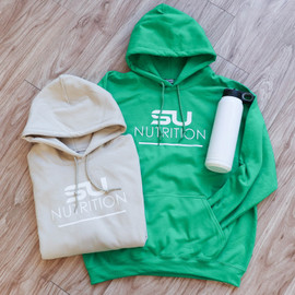 Kelly Green SU Nutrition Heavy Hoodie