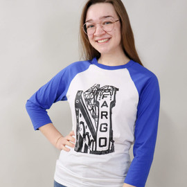 Shirts From Fargo | Fargo Theatre Baseball Tee