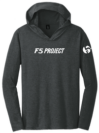 F5 Project Logo Soft Black Hoodie