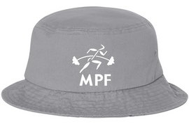 Grey  Maximum Performance and Fitness Bucket Hat