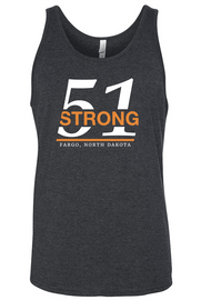 51 Strong Unisex Tank Two color design