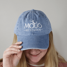 Mojo Fit Studios Denim Hat