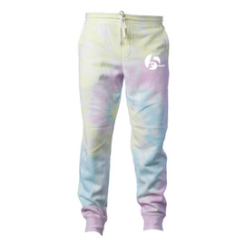 F5 Project Tie Dye Jogger - Sunset Swirl