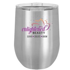 Enlightened Beauty Insulated Wine Tumbler