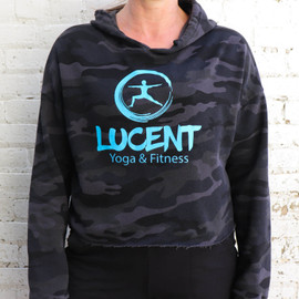 Lucent Yoga & Fitness Camo Hoodie