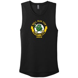 Will Run For Craft Beer Ladies Muscle Tank