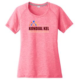Kondial Kel International   Sport-wick Ladie's Pink Tee