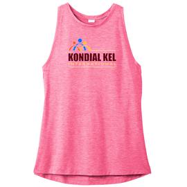 Kondial Kel International   Sport-wick Ladie's Pink Tank