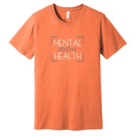 Rest Day | Mental Health Matters Heather Orange Unisex Tee