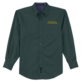 NDSU 4-H Ambassadors Unisex Long Sleeve Button Up
