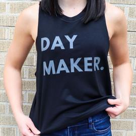 Daymaker Nutrition | Racerback Cropped Tank