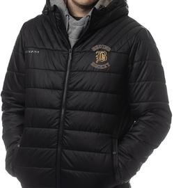 Black Bauer Supreme Hooded Puffer Jacket