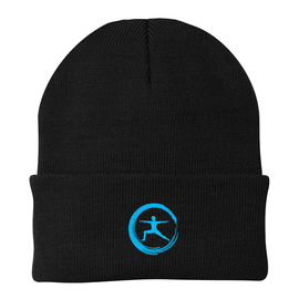 Lucent Yoga & Fitness Embroidered Cuff Beanie