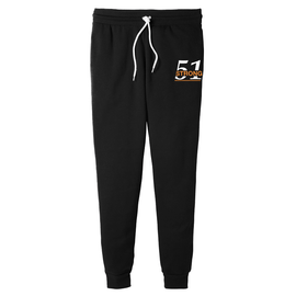 Black Joggers Two color Design 51 Strong