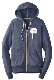Navy Frost |NoTN Terry Zip up | Nature of the North