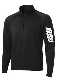 Arise! Athletic Quarter Zip. Shop Arise! Communities collection and support the good they do in the F-M Community and beyond. Sales directly benefit this amazing nonprofit.