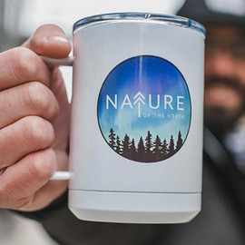 Nature of the North Mug with sliding lid