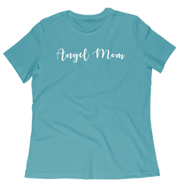 Angel Mom Crewneck Tee