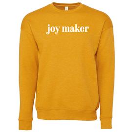 Hope Blooms | Mustard Joy Maker Crewneck