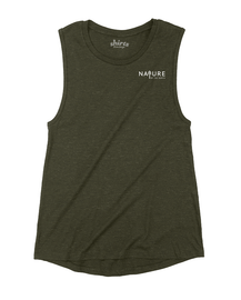 Olive | NoTN Ladies Muscle Tank | Nature of the North