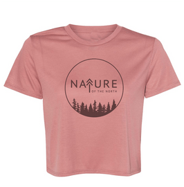 NoTN Sublimated Flowy Crop Tee  Nature of the North