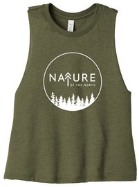 Olive NoTN Crop Tank | Nature of the North