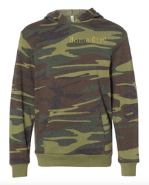 Down Home Youth Home Girl Camo Hoodie