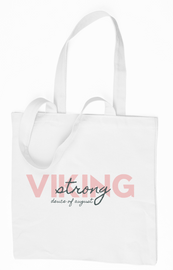The Deuce : Pink Design Viking Strong Tote Bag