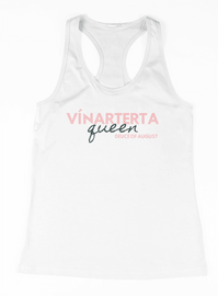 The Deuce : Vinarterta Queen Ladies Racerback Tank