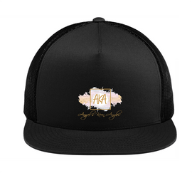 AKA Snapback Trucker Hat |  Angels Keen Angles