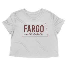 White Shirts from Fargo | Fargo Cropped Tee