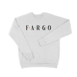 White | Shirts from Fargo | Fargo Drop Shoulder Sweatshirt