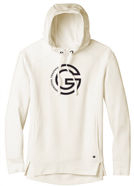 G Personal Training Ladies Ivory Luuma Soft Hoodie Front Chest