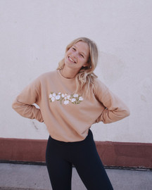 Madeline Design | Garden Drop Shoulder Crewneck