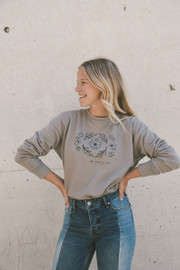Madeline Design | Do What You Love Drop Shoulder Crewneck