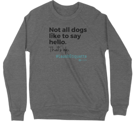 NatCVPM | Leash Etiquette Crewneck