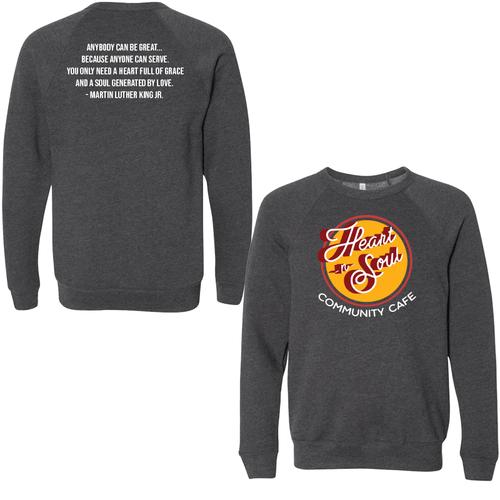Heart-n- Soul Community Cafe   Crewneck Sweatshirt