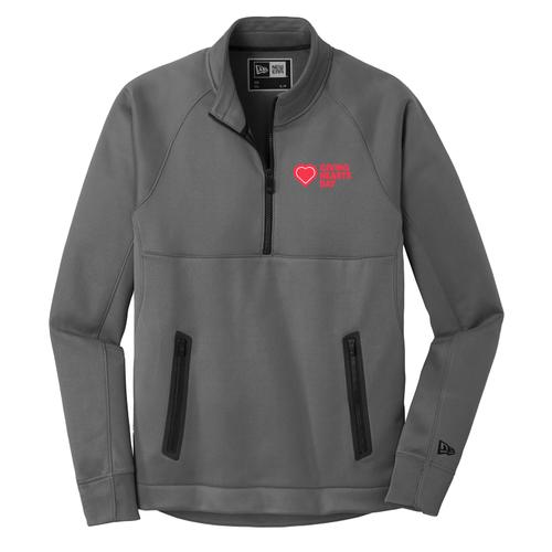 GHD New Era Mens Fleece 1/4 Zip | Giving Hearts Day