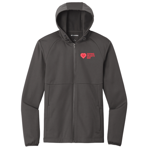 Unisex Fit GHD Soft Shell Jacket  Giving Hearts Day