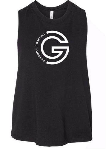 G Personal Training Ladies Crop Front Chest