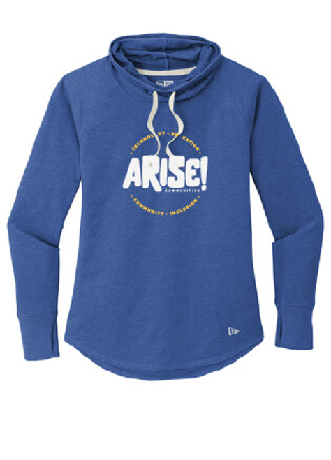 Arise! Sueded Cotton Cowlneck Tunic