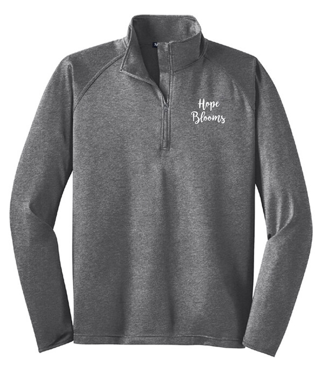 Hope Blooms Quarter Zip